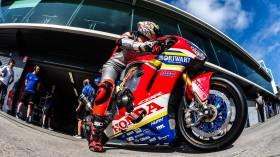 Leon Camier, Moriwaki-Althea Honda Racing Team, Phillip Island Test Day 1
