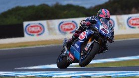 Alex Lowes, Pata Yamaha Official WorldSBK Team, Phillip Island Test Day 1