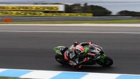 Jonathan Rea, Kawasaki Racing Team WorldSBK, Phillip Island Test Day 1
