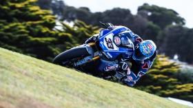 Marco Melandri, GRT Yamaha, Phillip Island Test Day 2