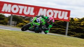 Lucas Mahias, Kawasaki Pucceti Racing, Phillip Island FP2
