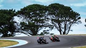 Alex Lowes, Pata Yamaha WorldSBK Team, Leon Haslam, Kawasaki Racing Team WorldSBK, Phillip Island FP2