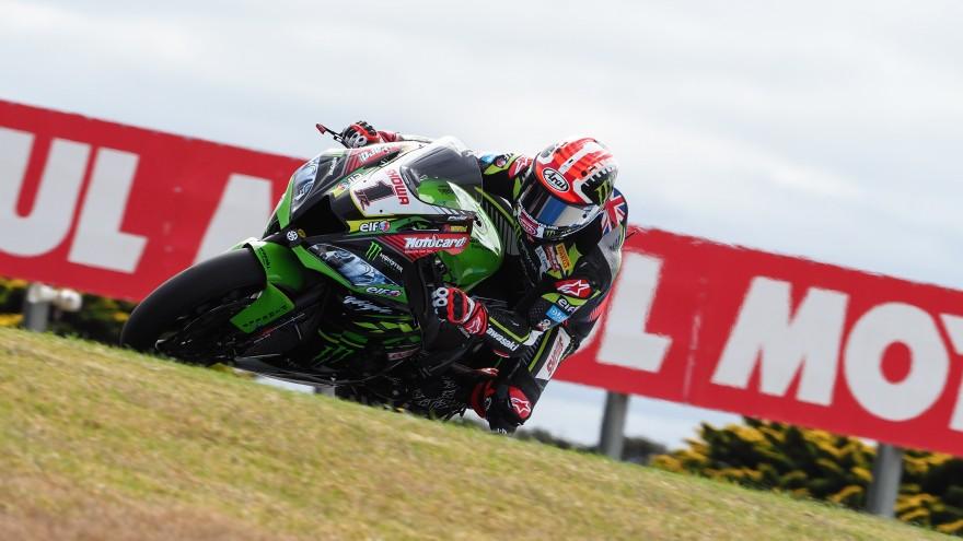 Jonathan Rea, Kawasaki Racing Team WorldSBK, Phillip Island FP1