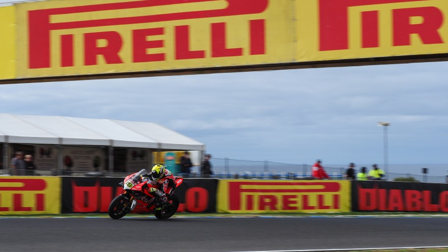 Alvaro Bautista, Aruba.it Racing - Ducati, Phillip Island FP1