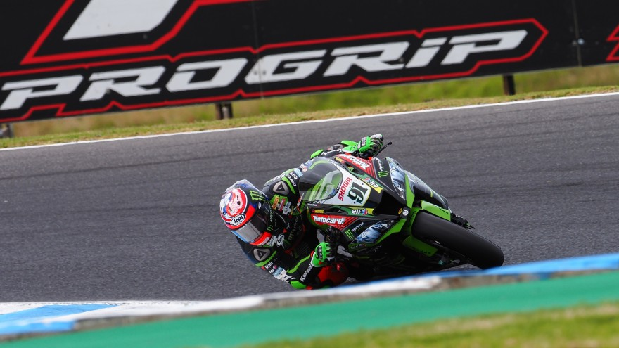 Leon Haslam, Kawasaki Racing Team WorldSBK, Phillip Island FP1
