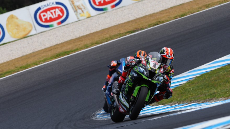 Jonathan Rea, Kawasaki Racing Team WorldSBK, Phillip Island