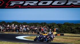 Alex Lowes, Pata Yamaha WorldSBK Team, Marco Melandri, GRT Yamaha WorldSBK, Phillip Island RACE 1