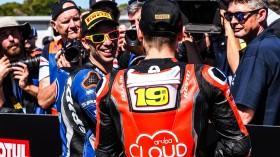 Marco Melandri, GRT Yamaha WorldSBK, Alvaro Bautista, Aruba.it Racing-Ducati, Phillip Island RACE 1
