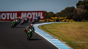 Leon Haslam, Kawasaki Racing Team WorldSBK, Phillip Island RACE 2