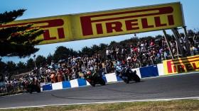 Leon Haslam, Kawasaki Racing Team WorldSBK, Marco Melandri, GRT Yamaha WorldSBK, Phillip Island RACE 2