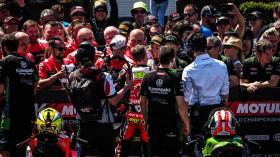Alvaro Bautista, Aruba.it Racing-Ducati, Jonathan Rea, Kawasaki Racing Team WorldSBK, Phillip Island Tissot Superpole RACE