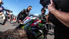 Jonathan Rea, Kawasaki Racing Team WorldSBK, Phillip Island Tissot Superpole RACE