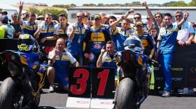 Federico Caricasulo, Randy Krummenacher, BARDAHL Evan Bros. WorldSSP Team, Phillip Island RACE