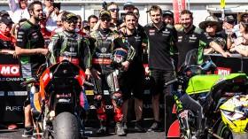 Leon Haslam, Jonathan Rea, Kawasaki Racing Team WorldSBK, Phillip Island RACE 2