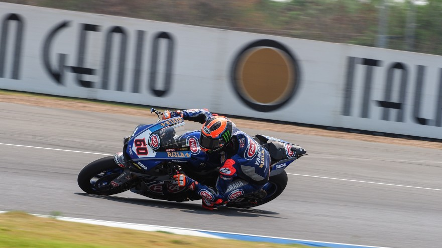 Michael van der Mark, Pata Yamaha Official WorldSBK Team, Buriram FP1