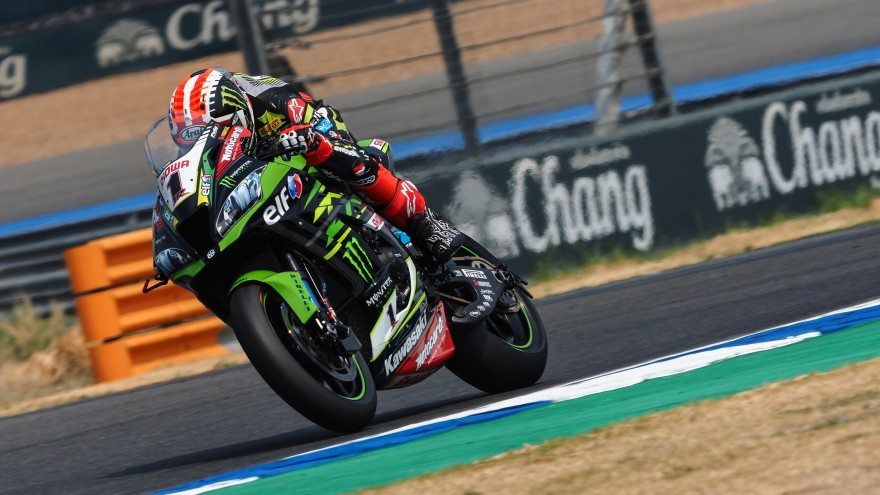 Jonathan Rea, Kawasaki Racing Team WorldSBK, Buriram FP1