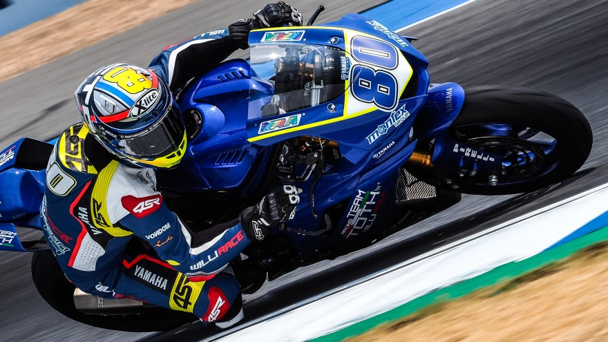 Hector Barbera, Team Toth by Willirace, Buriram FP2