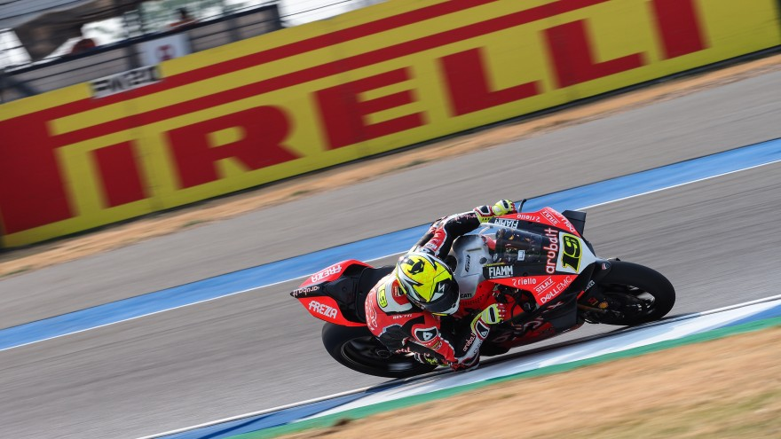 Alvaro Bautista, Aruba.it Racing - Ducati, Buriram FP2