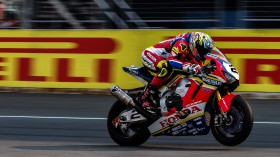 Leon Camier, Moriwaki-Althea Honda Racing Team, Buriram FP2