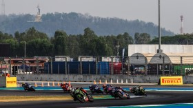 Jonathan Rea, Kawasaki Racing Team WorldSBK, Alex Lowes, Pata Yamaha WorldSBK Team, Buriram RACE 2