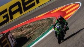 Lucas Mahias, Kawasaki Pucceti Racing, Aragon FP1