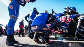 Alex Lowes, Pata Yamaha WorldSBK Team, Aragon Tissot Superpole RACE