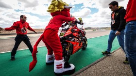 Alvaro Bautista, Aruba.it Racing-Ducati, Aragon RACE 2