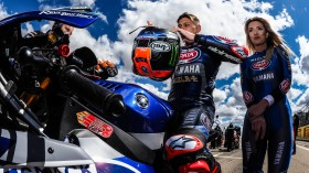 Michael van der Mark, Pata Yamaha WorldSBK Team, Aragon RACE 2