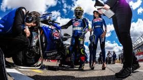 Sandro Cortese, GRT Yamaha WorldSBK, Aragon RACE 2