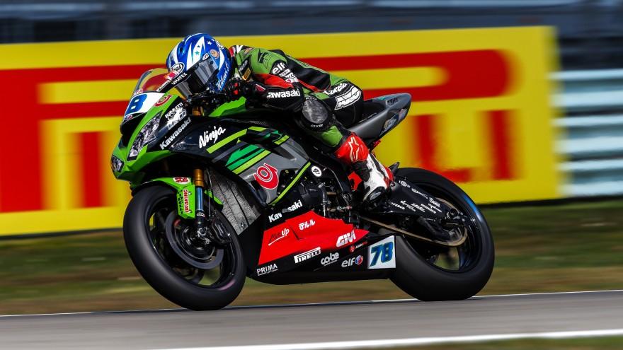 Hikari Okubo, Kawasaki Puccetti Racing, Assen FP2