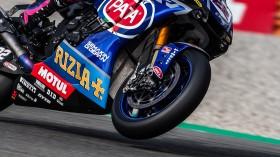 Alex Lowes, Pata Yamaha WorldSBK Team, Assen FP2