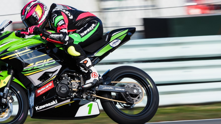 Ana Carrasco, Kawasaki Proves WorldSSP300, Assen RACE