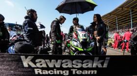 Leon Haslam, Kawasaki Racing Team WorldSBK, Assen RACE 1
