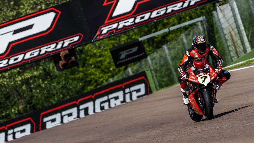 Chaz Davies, Aruba.it Racing-Ducati, Imola FP1