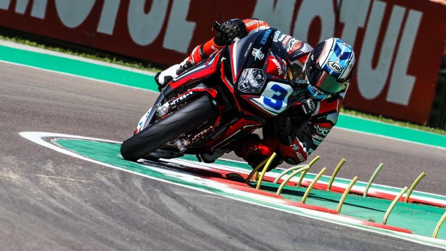 Raffaele De Rosa, MV AGUSTA Reparto Corse, Imola FP2