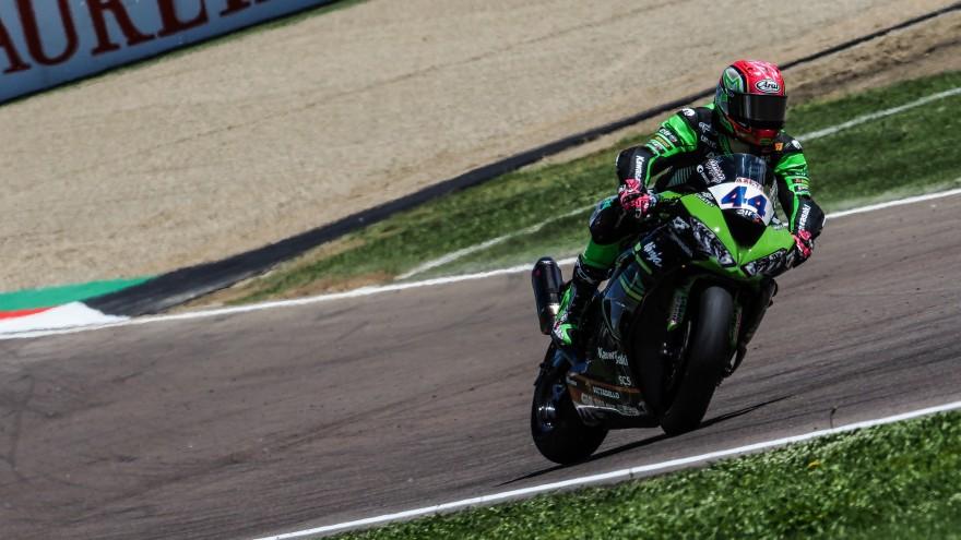 Lucas Mahias, Kawasaki Pucceti Racing, Imola FP2