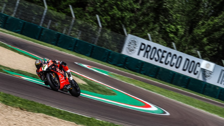 Chaz Davies, Aruba.it Racing-Ducati, Imola FP2