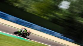 Jonathan Rea, Kawasaki Racing Team WorldSBK, Imola FP2