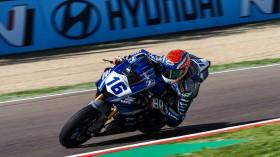 Jules Cluzel, GMT94 Yamaha, Imola FP2