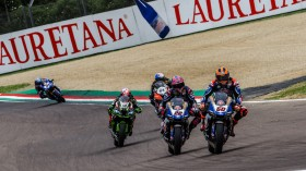 Michael van der Mark, Alex Lowes, Pata Yamaha WorldSBK Team, Imola RACE 1