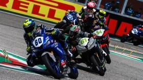 Gianluca Sconza, AG Motorsport Italia Yamaha, Imola FP2