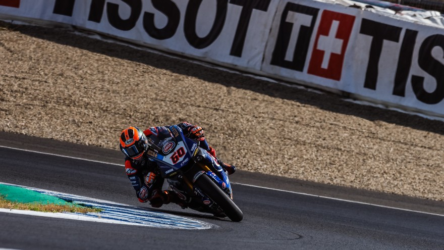 Michael van der Mark, Pata Yamaha Official WorldSBK Team, Jerez FP1