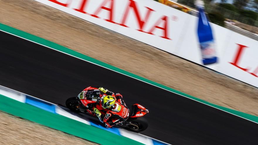 Alvaro Bautista, Aruba.it Racing - Ducati, Jerez FP1
