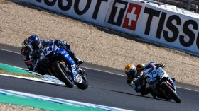 Corentin Perolari, GMT94 Yamaha, Jaimie van Sikkelerus, MPM WILSport Racedays, Jerez FP2