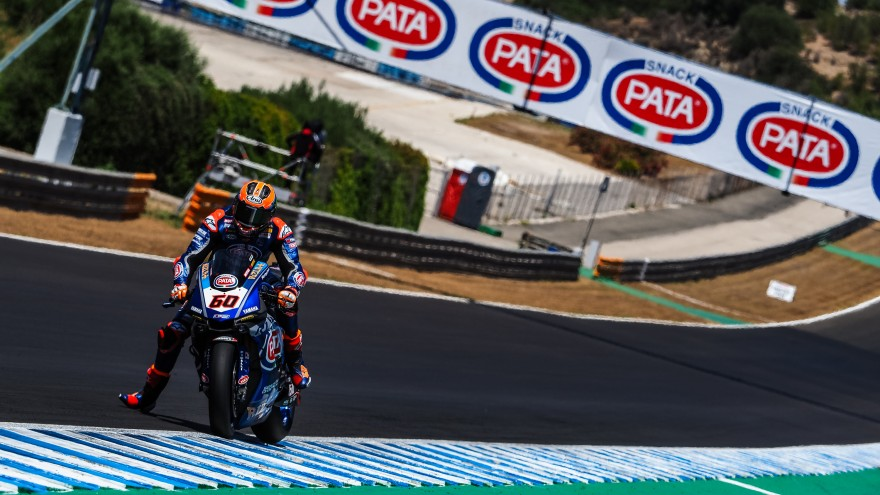 Michael van der Mark, Pata Yamaha Official WorldSBK Team, Jerez FP2