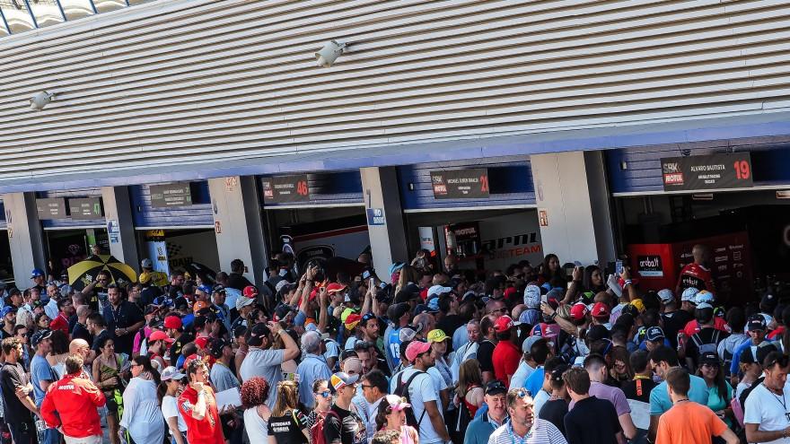 WorldSBK, Jerez Pit Walk
