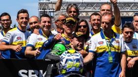 Federico Caricasulo, BARDAHL Evan Bros. WorldSSP Team, Lucas Mahias, Kawasaki Pucceti Racing, Jerez Tissot Superpole