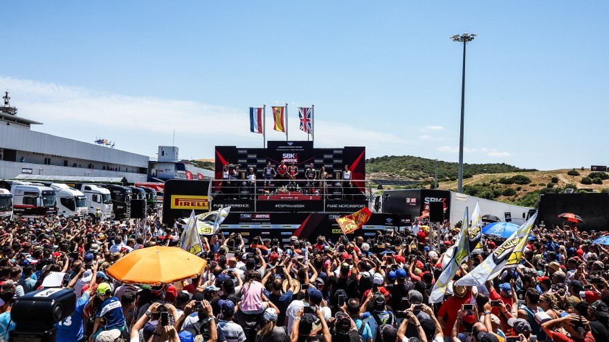 WorldSBK, Jerez Podium