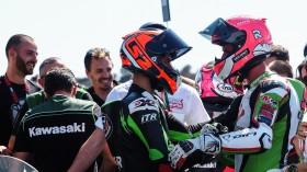 Marc Garcia, DS Junior Team, Scott Deroue, Kawasaki MOTOPORT, Jerez RACE 1