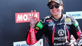 Ana Carrasco, Kawasaki Proves WorldSSP300, Jerez RACE 1